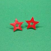 R�d dobbelt stjerne sticks