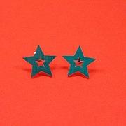 Gr�n dobbelt stjerne sticks