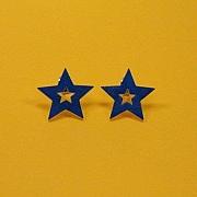 Bl� dobbelt stjerne sticks