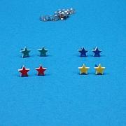 Farvede mini stjerne sticks