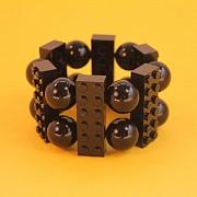 Sort 12�er Lego bilarmb�nd