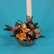 Guldl�ve i blomsterflor